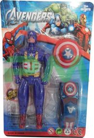 Muñeco Avengers 14 Cm Figura De Accion Marvel Juguete