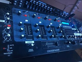 Mixer Consola Mezcladora 10ent Mp3 Eq Dj Bluetoot Casi Nuevo