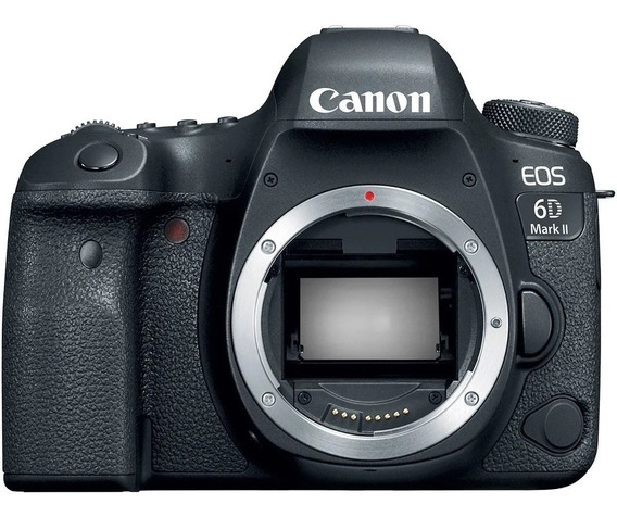 Camera Dslr Canon Eos 6d Mark Ii Somente Corpo Nota Fiscal