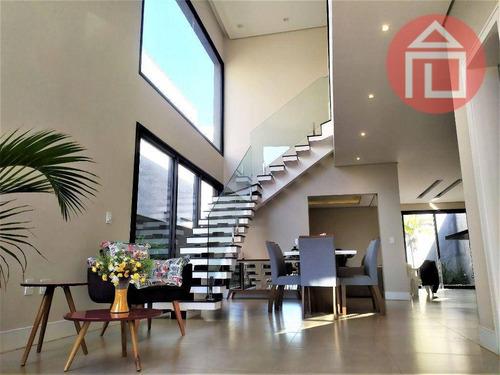 Imagem 1 de 24 de Casa Com 3 Dormitórios À Venda, 220 M² Por R$ 1.499.500,00 - Condomínio Portal De Bragança Horizonte - Bragança Paulista/sp - Ca2919