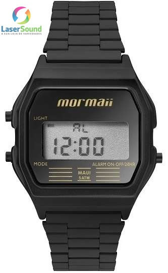 Relógio Mormaii Unissex Mojh02aj/4p, C/ Garantia E Nf