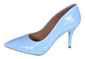 Scarpin Factor Fashion Salto 8 Cm Verniz