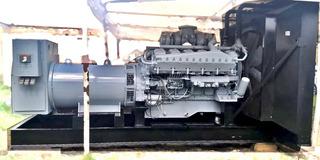 Planta De Luz Generador Electrico 750kw Mitsubishi Seminueva