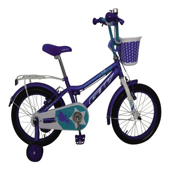 Bicicletas Gw Fairy Rin 16 Para Niña Pedales Azul