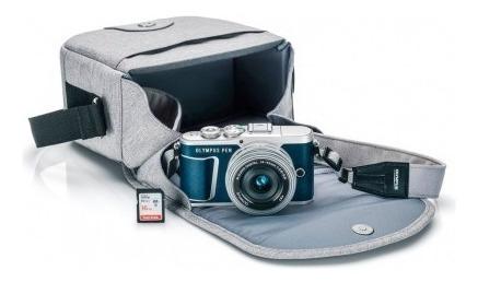 Câmera Olympus E-pl9 14-42mm (estojo+mem) Azul