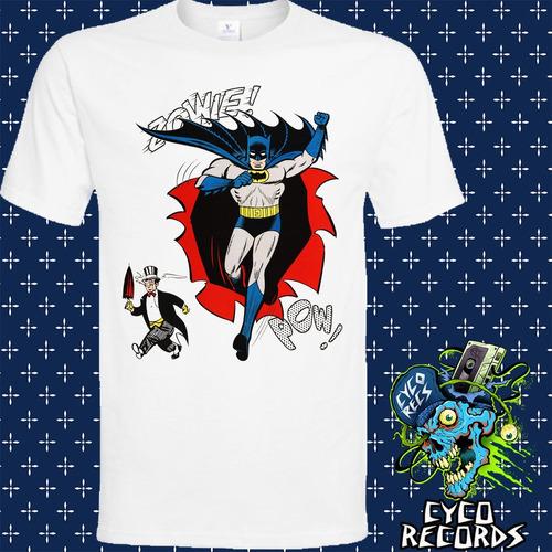 Imagen 1 de 3 de Batman - Penguin - Clasicos - Polera- Cyco Records