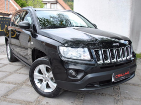 Jeep Compass 2.4 Sport 4x4 Automatico 2014 Muy Bien Cuidado
