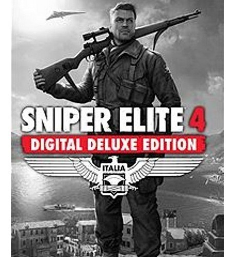 Sniper Elite 4 Deluxe Edition-pc-dvd- (midia Fisica)