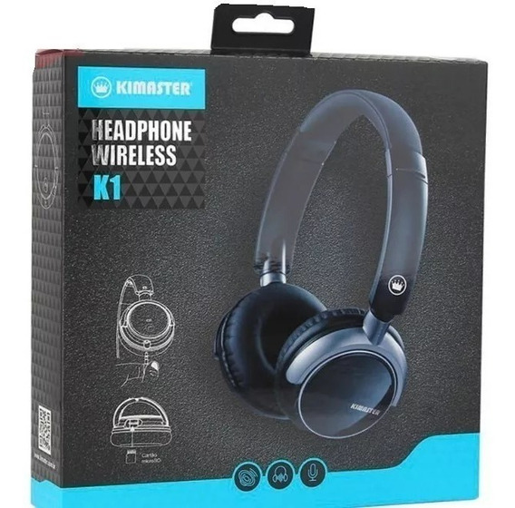 Fone Headphone Wireless, Qualidade E Comforto!!!