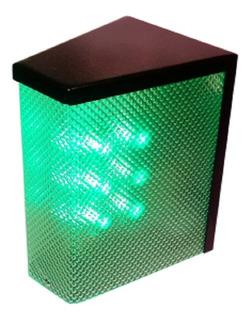 Semáforo Electrónico 24 Leds 5050 Garage Con Sonido 3 Cables