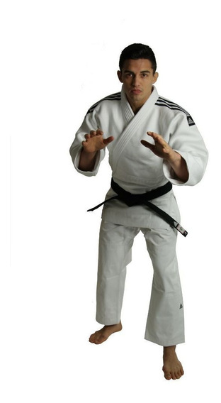 Kimono Judô adidas Competição J930 Champion Gui Branco-160