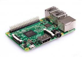 Raspberry Pi 3 + Cartao 8gb + Dissipador + Cabo De Rede