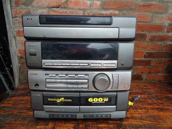 Radio Aiwa Cx-zr300lh Para Conserto Ou Peças Barato