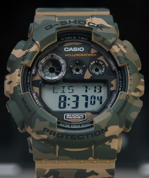 Relógio G Shock Camuflado (gd-120cm-5dr)