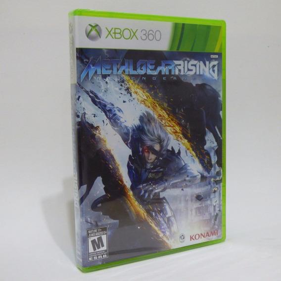 Jogo Xbox 360 Metal Gear Rising * Lacrado *
