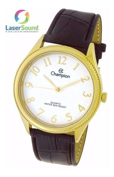 Relógio Champion Social Masculino Ch22788b, C/ Garantia E Nf
