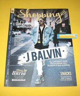 J Balvin Revista Shopping 2018