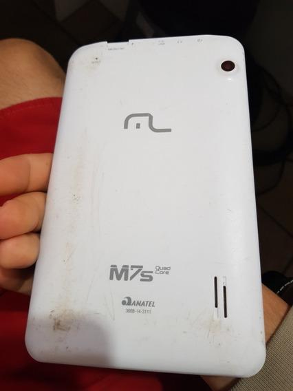 Tablet Multilaser M7s Com Display Danificado