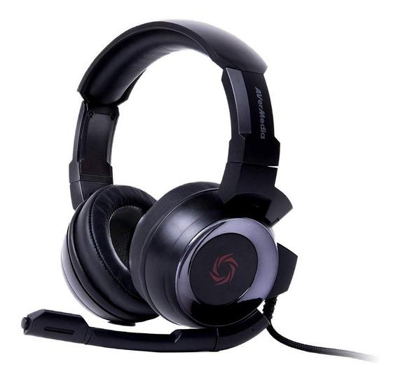 Diadema Gamer Avermedia Sonicwave Gh335 Negro, Pc, Ps4, Xbox