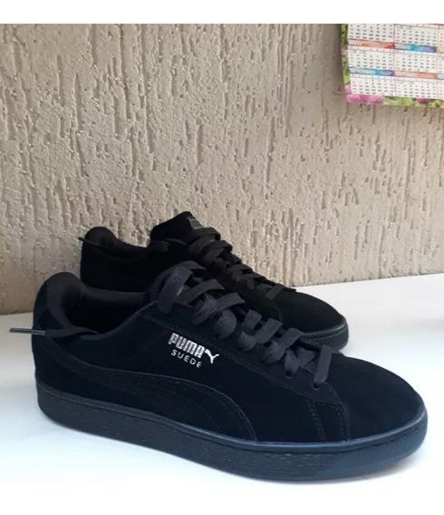 Tênis Puma Suede Black