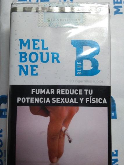 Cigarrillos Melbourne Suaves X Cartón (10 Atados) Envios