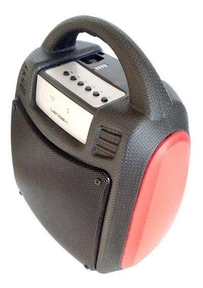 Caixa De Som Bluetooth Portátil Vermelha Lendex Ldcst30b