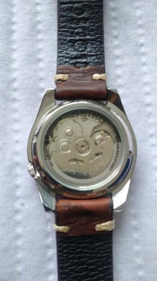 Relógio Seiko 5 Automático Com 2 Pulseiras
