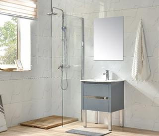 Mueble Para Baño Ca60, Inc Placa Ceramica, Espejo Y Mono