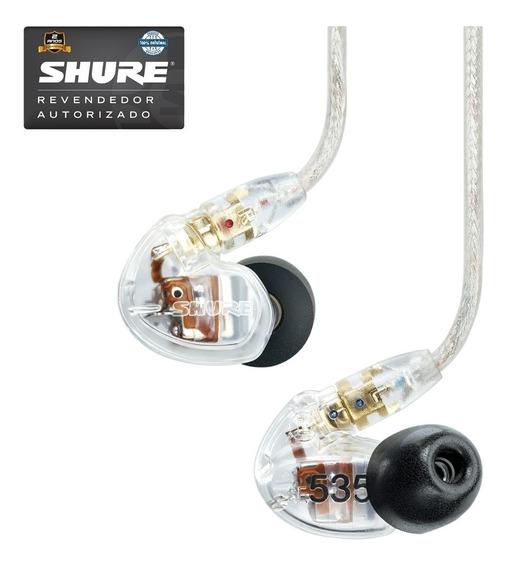 Fone De Ouvido Shure In Ear Se535 Cl Na Cheiro De Musica