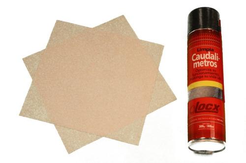 Limpia Lava Caudalimetro Filtro Aire + 2 Paños Locx 419 Ml