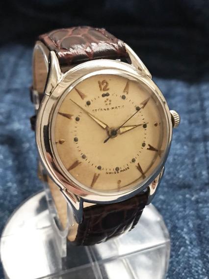 Nível Omega Automático Eterna Tipo Kontiki Temos + Relógios