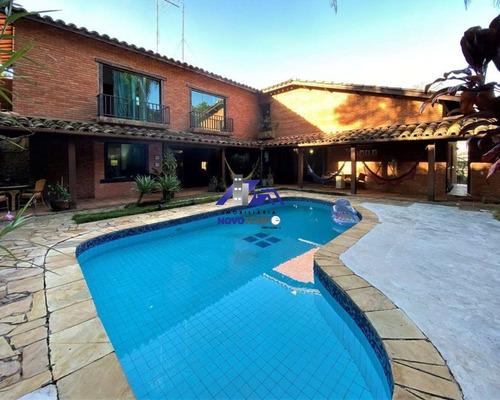 Imagem 1 de 30 de Casa Rústica A Venda Com 3 Dorms Sendo 1 Suíte E 4 Vagas - Chac. São João - Ca00909 - 69541443