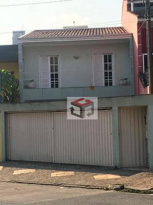 Sobrado Residencial À Venda, Bairro Jardim, Santo André. - So14534