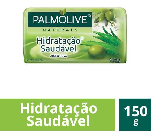 Sabonete Barra Naturals Hidratação Saudável Palmolive 150g