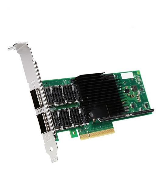 Placa De Rede Intel Qsfp+ Xl710-qda2 Dual Port 40gbe