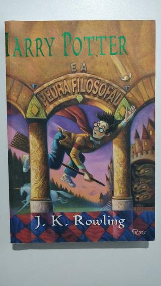 Livro Harry Potter E A Pedra Filosofal Primeira Edição Rocco
