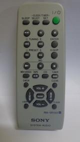 Controle Remoto Original System Audio Sony Rm-sr100