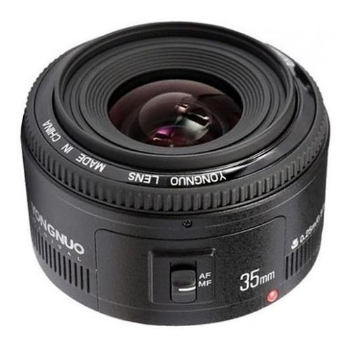 Lente Yongnuo Yn 35mm F2 Canon 70d T6i 7d 5d T5i T6i T5  Sp