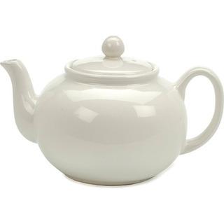 Rsvp International Teapota De Gres Blanco Chai W