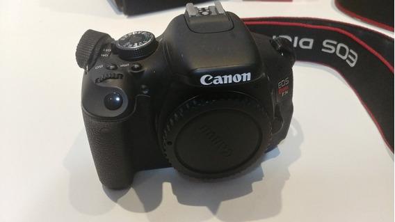 Câmera Fotografica Canon T3i - Foto E Video Profissional