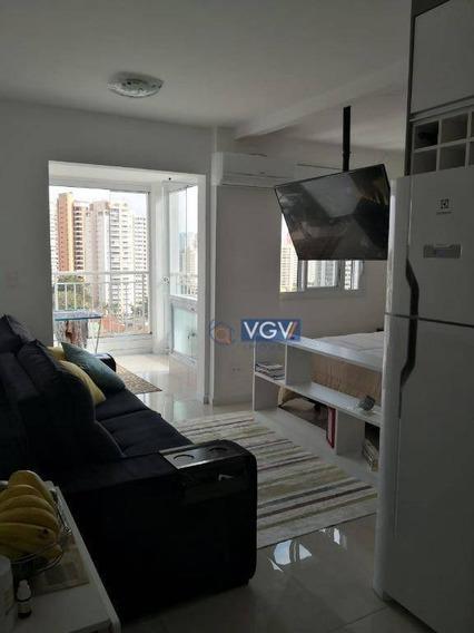 Apartamento Com 1 Dormitório À Venda, 37 M² Por R$ 456.000 - Chácara Santo Antônio (zona Sul) - São Paulo/sp - Ap3252