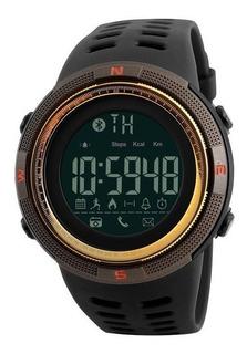Relógio Skmei Pedometro Bluetooth Calorias Smart Watch 1250