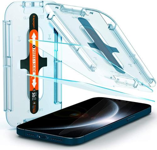 Spigen Vidrio Templado Protector Pantalla iPhone 12 Pro Max