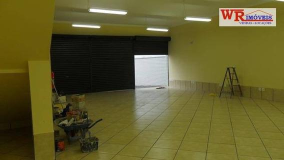 Salão Comercial Para Locação, Centro, São Bernardo Do Campo. - Sl0001