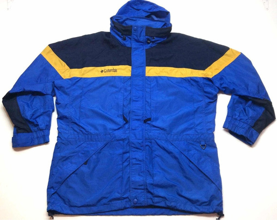 Campera Columbia Rompeviento Vintage Hombre Talle L G