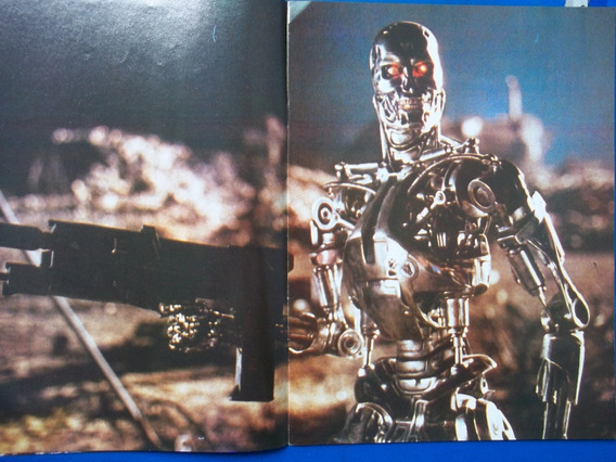 Revista O Exterminador Do Futuro 2 Edição Especial O Filme