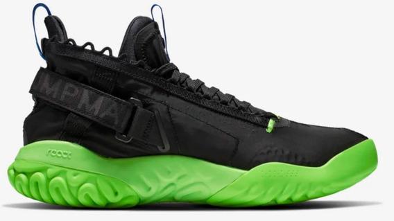 Jordan Proto React Black / Green Importaciones Mexicali
