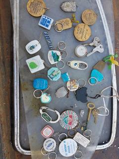 Coleção De Chaveiros,chaves, Pis E Medalhas Aintigas ¿¿