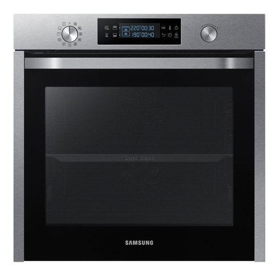 Horno Electrico Samsung Nv75k5541rs Dual Cook 75l