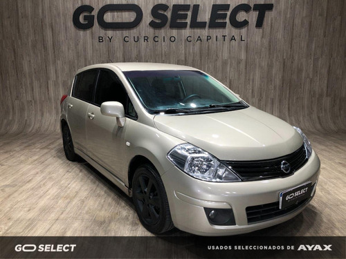 Nissan Tiida Full At 2013 Beige Buen Estado
